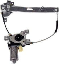 NEW REAR LEFT WINDOW REGULATOR AND LIFT MOTOR ASSEMBLY CHEVY IMPALA 2000-2005