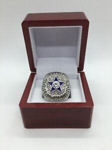 1971 Dallas Cowboys Roger Staubach Super Bowl Championship Ring Set SILVER