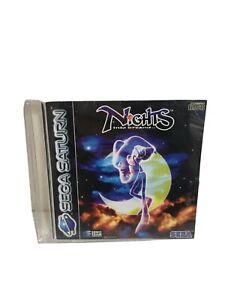 Nights Into Dreams Sega Saturn Game