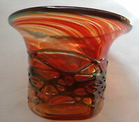 STUNNING MDINA MALTESE GLASS VASE