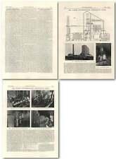 1927 The Turner Low Temperature Carbonising Plant, Comac,coalburn