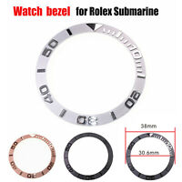NEW Replacement Ceramic Bezel Insert 38mm for Ro lex Submariner Accessories