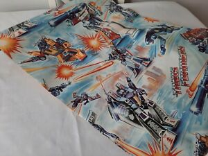 Vintage TRANSFORMERS ROBOTS IN DISGUISE Wallpaper PART Roll rare retro original
