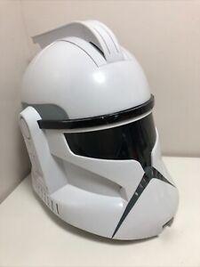 Hasbro Star Wars Clone Trooper Voice Changer Helmet with Sounds. 2008. Cosplay