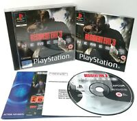 Resident Evil 3 ~ Sony Playstation PS1 ~ Black Label PAL Game *Near Mint CIB*