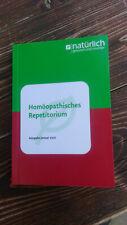 Neu Buch Homöopathisches Repetitorium Homöopathie Ausgabe Januar 2021