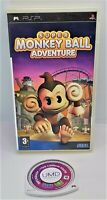 Super Monkey Ball Adventure Game for Sony PlayStation Portable PSP PAL TESTED