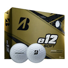 Bridgestone E12 SOFT 2019 White 3 Piece Low Compression Golf Balls - 1x Dozen