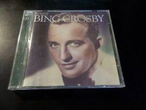 CD DOUBLE ALBUM - BING CROSBY - THE BEST OF