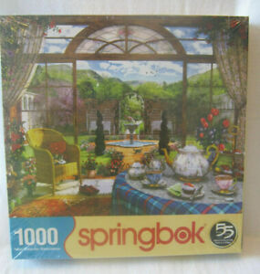 SPRINGBOK 1000 PIECE JIGSAW PUZZLE ~ THE CONSERVATORY ~ BRAND NEW - SEALED