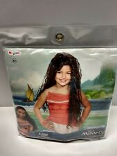Moana Disney Princess Wig Deluxe Child's Girls Long Curly Halloween Costume New!