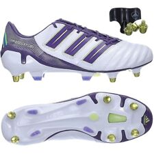 Adidas adipower X Predator SG men's professional soccer cleats white/purple NEW
