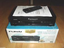 Funai d50y-100m VHS-Enregistreur vidéo, complètement dans neuf dans sa boîte, 2 ans de garantie