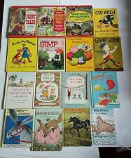 Children's Vtg book lot RARE PARENT'S MAGAZINE ILLUSTRATED FAIRY TALES AUTHOR'S