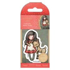 Gorjuss #79 Oh Deer Mini Collectible Rubber Stamp