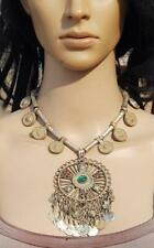 Vintage Kuchi Afghan Pendant Necklace Boho Gypsy Ats Handmade Banjara Tribal