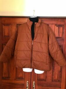 Universal Thread~Brown~ Women's Puffer Zip Jacket~ New With Tags