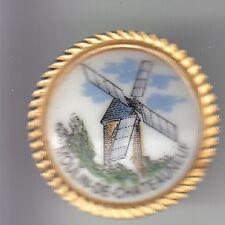 RARE PINS PIN'S .. TOURISME MOULIN A VENT MILL FARINE DE CHATEAUNEUF 85 3D ~DF