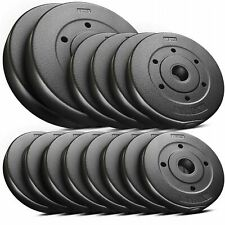 Weight set plates 30 kg+Dumbbells bar adjustable Weight lifting training Home
