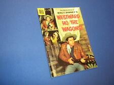 WESTWARD HO THE WAGONS!  #738 Dell Four Color 1956 DISNEY FESS PARKER WESTERN