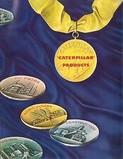 Caterpillar Products Tractors Scrapers Engine Book 1947