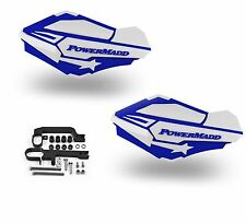 PowerMadd Sentinel Handguards Guards Kit Blue White Snow Snowmobile Hayes Brakes