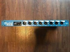 Radial SW8 Auto Switcher DI w/ 8 way DSUB and MIDI capability