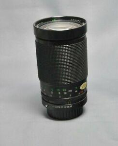 KENLOCK  35-200mm ZOOM LENS  PKA FIT