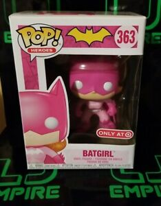 Batgirl Breast Cancer Awareness Pink Ribbon Funko Pop! Target DC Comics 363
