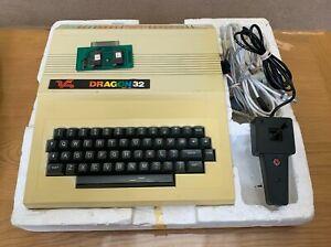 Dragon 32 Vintage Computer Bundle inc Joystick /  Manuals / PSU / Cables / Game