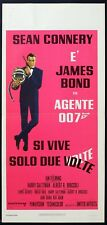 AGENTE 007 SI VIVE SOLO DUE VOLTE You Only Live Twice LOCANDINA POSTER AFFICHE
