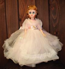 Madame Alexander doll Elise with box and metal stand. 17 inches
