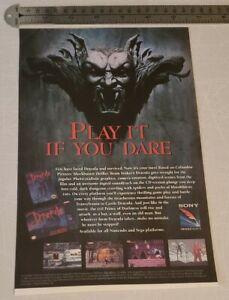 Dracula Super Nintendo Sega Video Game Advertisement (1992)