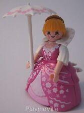 Playmobil Dama Vestido + Parasol en florido nuevo Dollshouse/Victoriano/Palacio figura