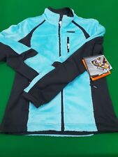 WARM WINTER TURQUOISE ICEPEAK HIKING SKIING FLEECE JACKET SIZE EU 36 6-8