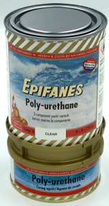 Epifanes Polyurethane Clear Gloss Marine Varnish - 3.0kg (2 component) (PUC)