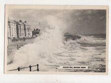 Rough Sea Bognor Regis Vintage Plain Back RP Card 940a