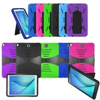 for Samsung Galaxy Tab A 8.0 T350 9.7 T550 Defender Box Hybird Case Cover Stand