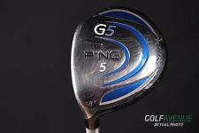 Ping G5 Fairway 5 Wood 18° Regular Left-Handed Graphite Golf Club #4330