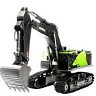 USA Stock 1:14 22CH Huina 1593 RC Excavator Construction Vehicle Toys For Kids