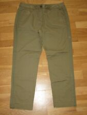 next light khaki cotton summer tapered crop trousers size 18 XL brand new tags