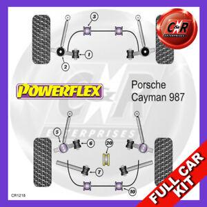 For Porsche Cayman 987C (05 - 12) Fr Engine Mount Bush Powerflex Full Bush Kit