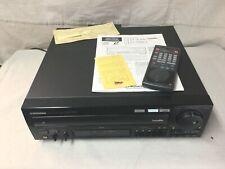 Pioneer CLD-3390 LaserDisc Player Original Remote, Book, & Box