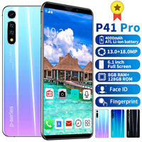 P41 Pro 6.1inch Android 9.1 Smartphone 8+128G Dual SIM 4G Mobile 13+18MP 10 Core