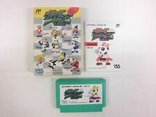 J LEAGUE FIGHTING SOCCER -- Boxed. Famicom, NES. Japan game. Work fully.