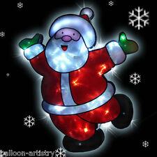 42cm Christmas LED Lights SANTA CLAUS Decoration