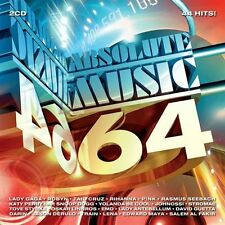Absolute Music 64 - 44 Hits On 2-Discs (2CD 2010) NEW
