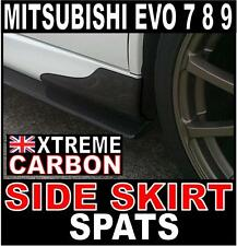 Mitsubishi Evo EVOLUTION 7 8 9 Carbon Side Skirt Spats Covers