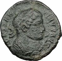Constantine I The Great 318AD Trier mint Ancient Roman Coin Altar  i32448