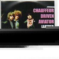 (917A) Chauffeur Driven Aviator, Leather Jacket - DJ CD
